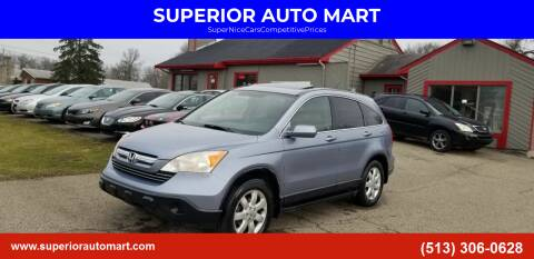 2007 Honda CR-V for sale at SUPERIOR AUTO MART in Amelia OH