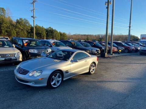 2006 Mercedes-Benz SL-Class for sale at Billy Ballew Motorsports in Dawsonville GA