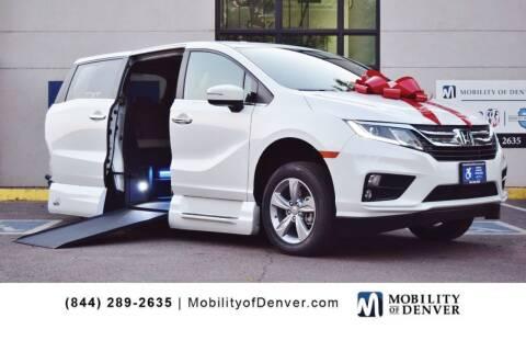 2020 Honda Odyssey for sale at CO Fleet & Mobility in Denver CO