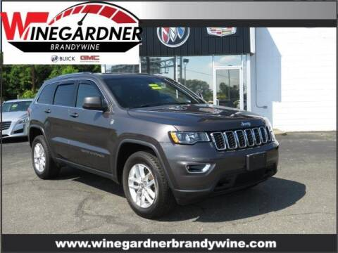 2017 Jeep Grand Cherokee for sale at Winegardner Auto Sales in Prince Frederick MD
