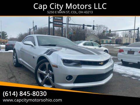2014 Chevrolet Camaro for sale at Cap City Motors LLC in Columbus OH
