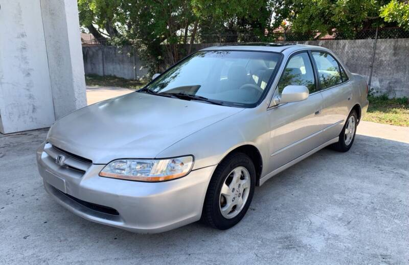 1999 Honda Accord for sale at FIRST FLORIDA MOTOR SPORTS in Pompano Beach FL
