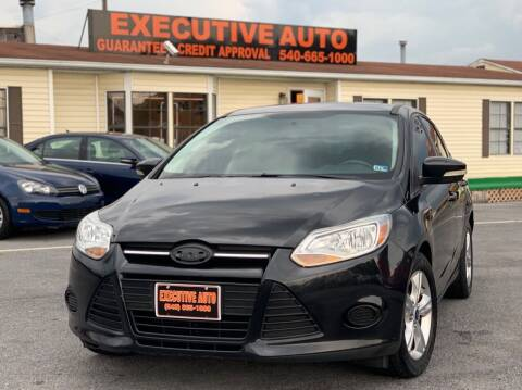 2014 Ford Focus for sale at Executive Auto in Winchester VA