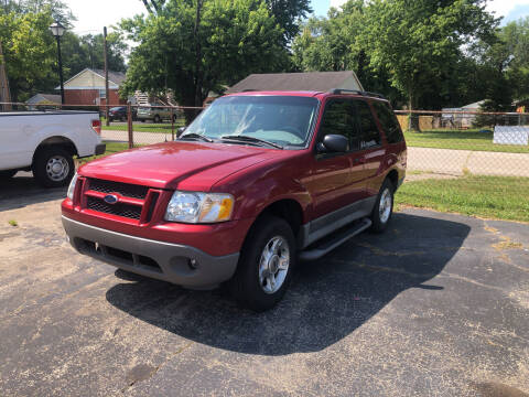 2003 Ford Explorer Sport for sale at Neals Auto Sales in Louisville KY