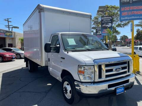 2016 Ford E-Series Chassis for sale at Sanmiguel Motors in South Gate CA