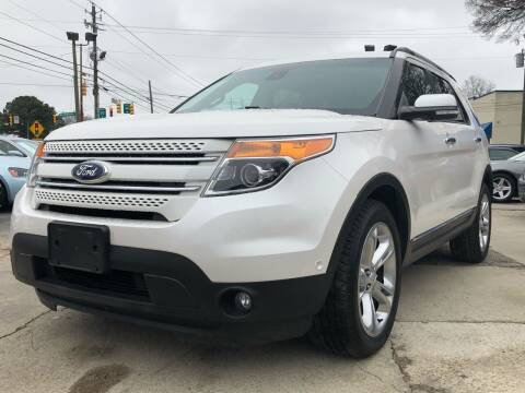 2015 Ford Explorer for sale at Capital Motors in Raleigh NC