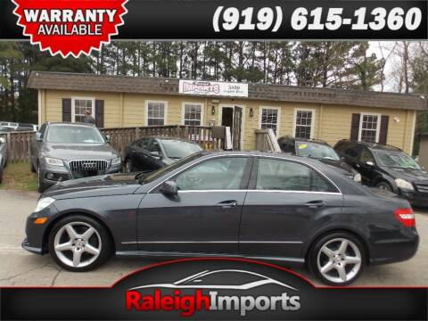 2010 Mercedes-Benz E-Class for sale at Raleigh Imports in Raleigh NC