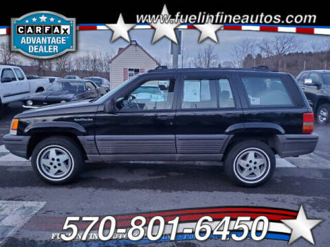 1994 Jeep Grand Cherokee for sale at FUELIN FINE AUTO SALES INC in Saylorsburg PA