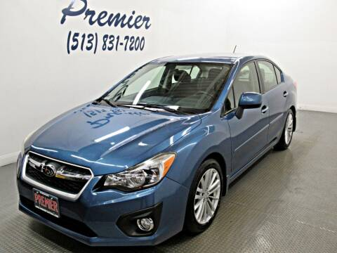 2014 Subaru Impreza for sale at Premier Automotive Group in Milford OH