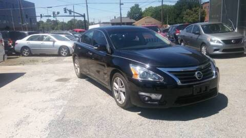 2013 Nissan Altima for sale at Specialty Bank Liquidators in Greensboro NC
