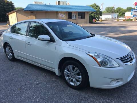 2012 Nissan Altima for sale at Cherry Motors in Greenville SC