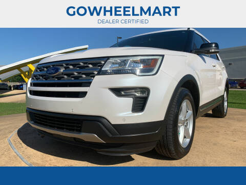 2018 Ford Explorer for sale at GOWHEELMART in Leesville LA