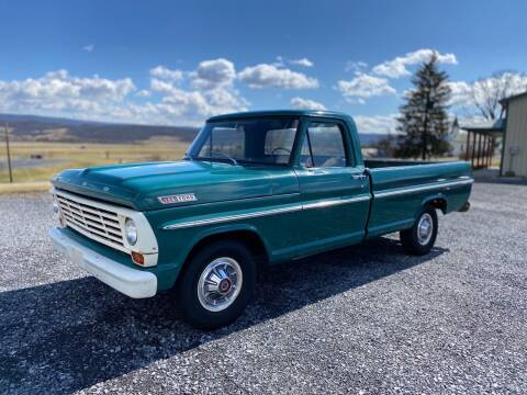 1967 Ford F-100 for sale at All Collector Autos LLC in Bedford PA
