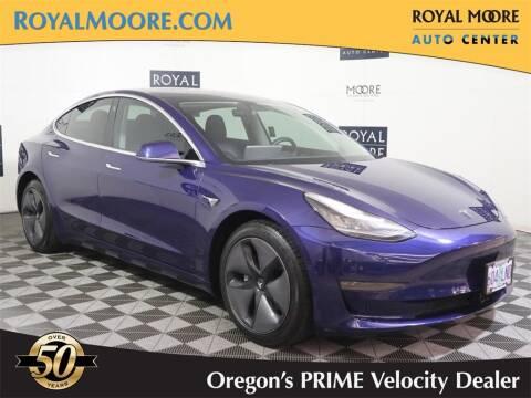 2018 Tesla Model 3 for sale at Royal Moore Custom Finance in Hillsboro OR