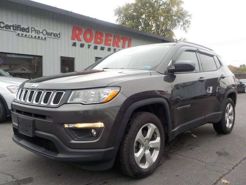 2018 Jeep Compass for sale at Roberti Automotive in Kingston NY