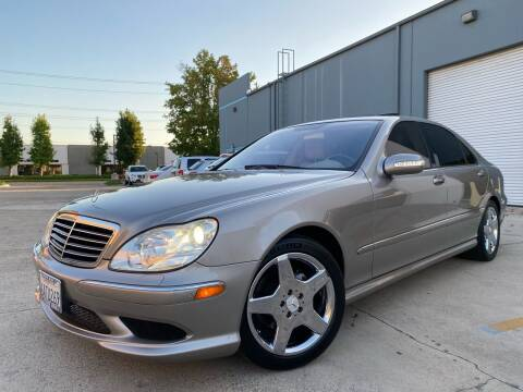 2004 Mercedes-Benz S-Class for sale at 7 Auto Group in Anaheim CA