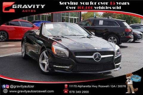 2016 Mercedes-Benz SL-Class for sale at Gravity Autos Roswell in Roswell GA