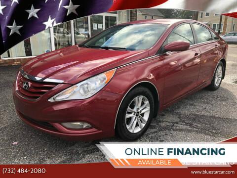 2013 Hyundai Sonata for sale at Blue Star Cars in Jamesburg NJ