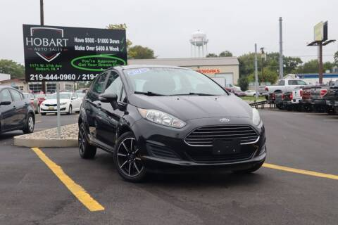 2015 Ford Fiesta for sale at Hobart Auto Sales in Hobart IN
