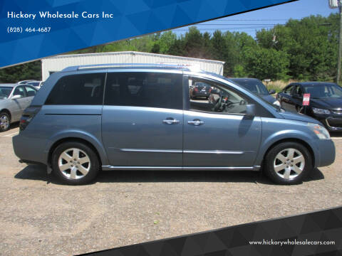 2008 Nissan Quest for sale at Hickory Wholesale Cars Inc in Newton NC