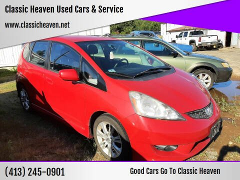 2011 Honda Fit for sale at Classic Heaven Used Cars & Service in Brimfield MA