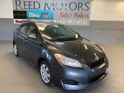 2009 Toyota Matrix for sale at REED MOTORS LLC in Phoenix AZ