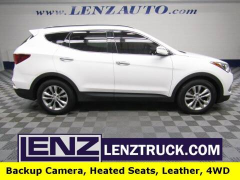 2017 Hyundai Santa Fe Sport for sale at LENZ TRUCK CENTER in Fond Du Lac WI