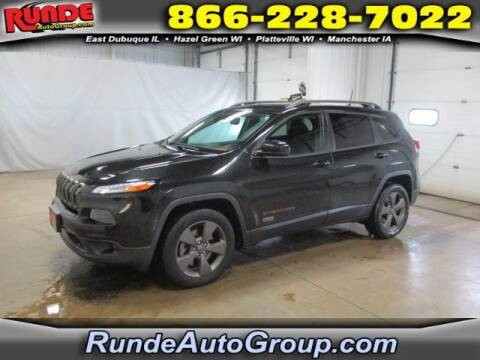 2016 Jeep Cherokee for sale at Runde Chevrolet in East Dubuque IL