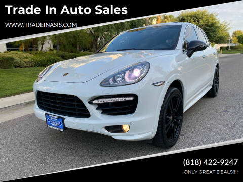 2013 Porsche Cayenne for sale at Trade In Auto Sales in Van Nuys CA