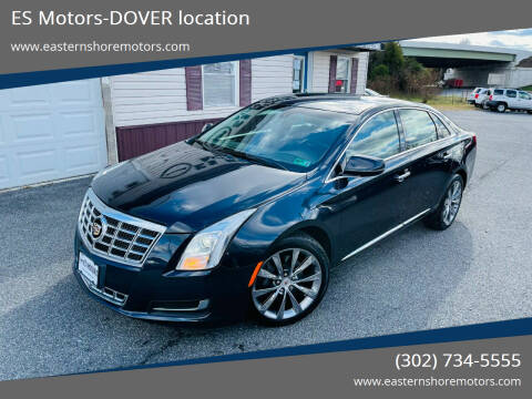 2013 Cadillac XTS for sale at ES Motors-DAGSBORO location - Dover in Dover DE