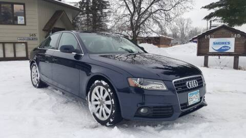2011 Audi A4 for sale at Shores Auto in Lakeland Shores MN