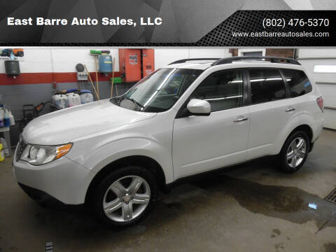2010 Subaru Forester for sale at East Barre Auto Sales, LLC in East Barre VT