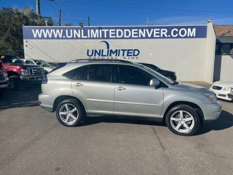 2004 Lexus RX 330 for sale at Unlimited Auto Sales in Denver CO