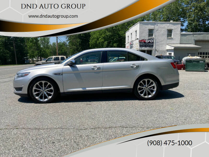 2013 Ford Taurus for sale in Belvidere, NJ
