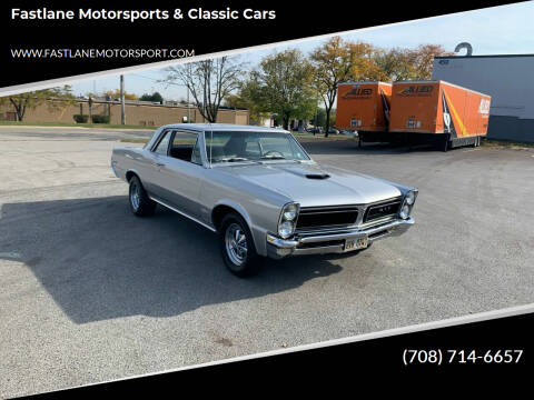 1965 Pontiac Le Mans for sale at Fastlane Motorsports & Classic Cars in Addison IL