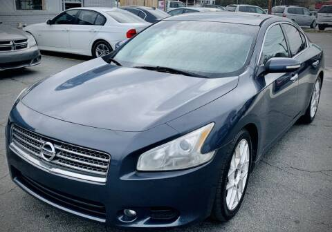 2010 Nissan Maxima for sale at RD Motors, Inc in Charlotte NC