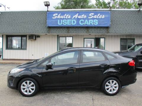 2011 Ford Fiesta for sale at SHULTS AUTO SALES INC. in Crystal Lake IL