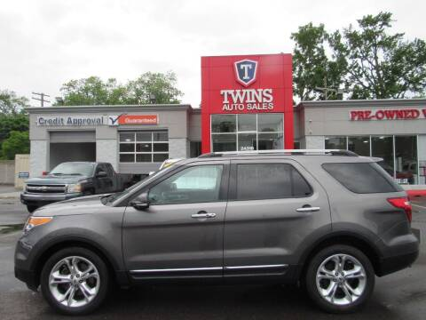 2013 Ford Explorer for sale at Twins Auto Sales Inc in Detroit MI