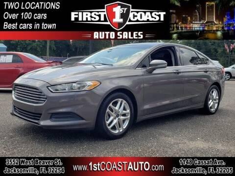 2013 Ford Fusion for sale at 1st Coast Auto -Cassat Avenue in Jacksonville FL