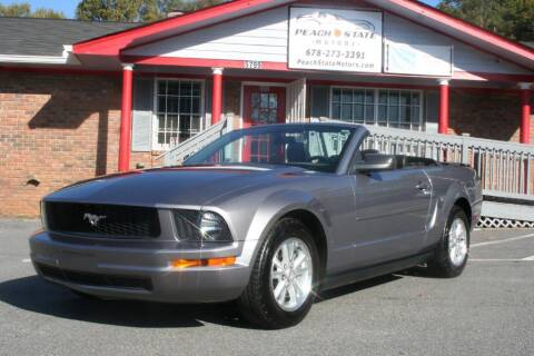 2007 Ford Mustang for sale at Peach State Motors Inc in Acworth GA