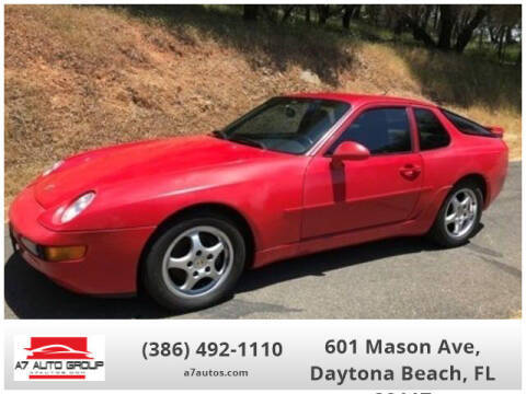 1995 Porsche 968 for sale at A7 AUTO SALES in Daytona Beach FL
