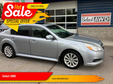 2012 Subaru Legacy for sale at Select AWD in Provo UT