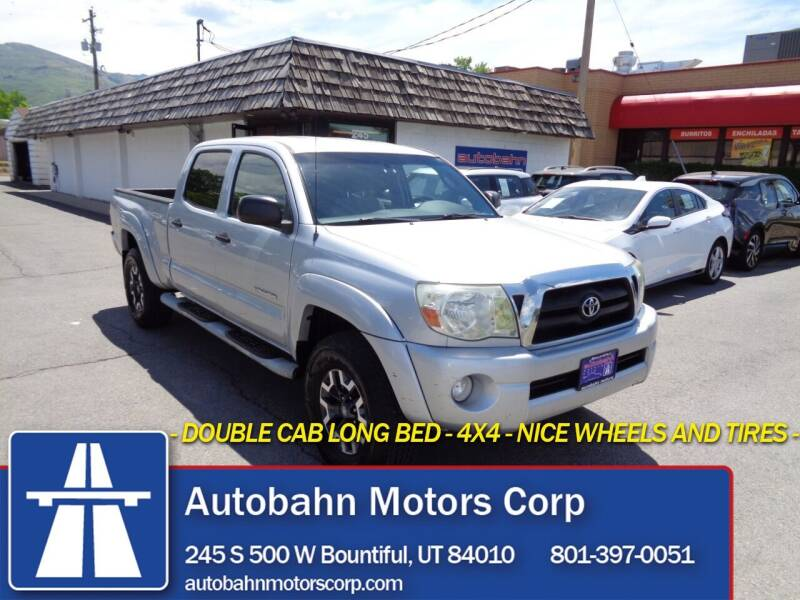 2005 Toyota Tacoma for sale at Autobahn Motors Corp in Bountiful UT