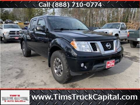 2014 Nissan Frontier for sale at TTC AUTO OUTLET/TIM'S TRUCK CAPITAL & AUTO SALES INC ANNEX in Epsom NH