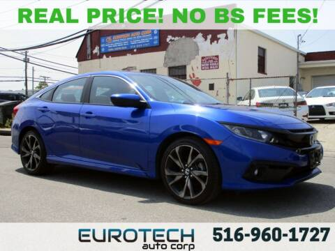 2019 Honda Civic for sale at EUROTECH AUTO CORP in Island Park NY
