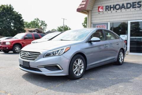2016 Hyundai Sonata for sale at Rhoades Automotive in Columbia City IN