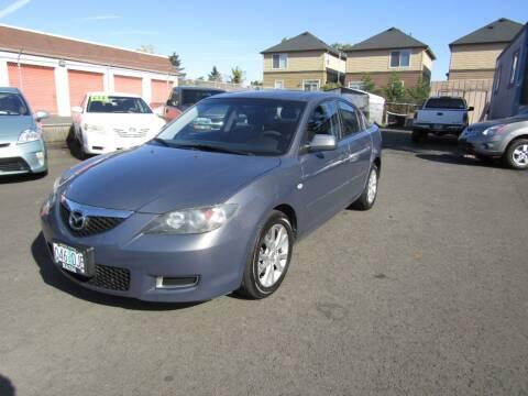 2007 Mazda MAZDA3 for sale at ARISTA CAR COMPANY LLC in Portland OR