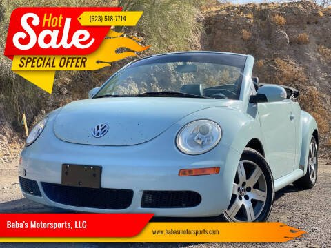 2006 Volkswagen New Beetle Convertible for sale at Baba's Motorsports, LLC in Phoenix AZ