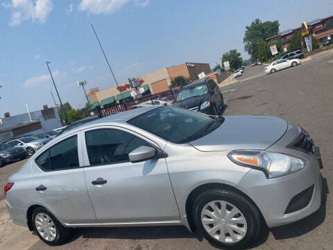 2018 Nissan Versa for sale at Sanaa Auto Sales LLC in Denver CO