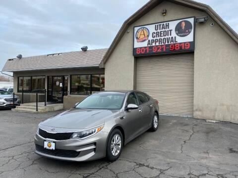 2018 Kia Optima for sale at Utah Credit Approval Auto Sales in Murray UT